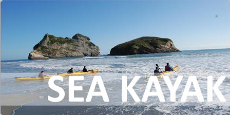 sea kayak button